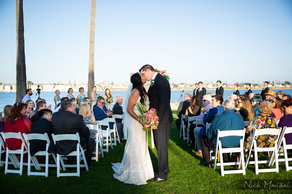 The Point Mission Beach Wedding