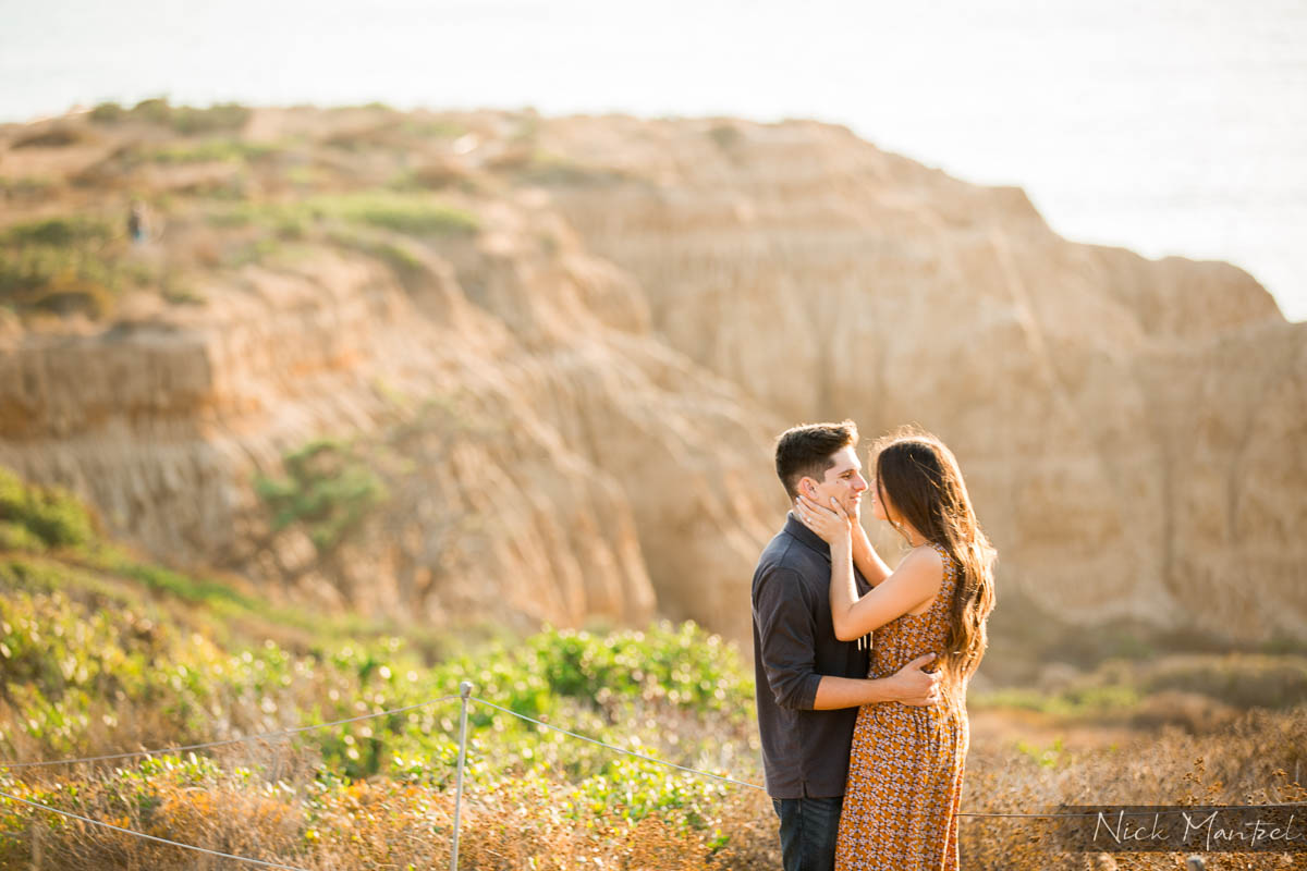 Torrey Pines Engagement Photo