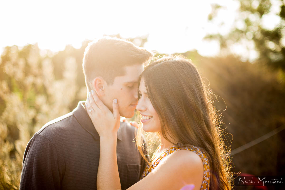 Torrey Pines Engagement Portrait